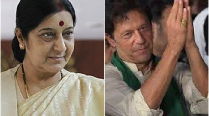 Sushma Swaraj questions Imran Khan over the abduction and forced conversion of underage Hindu girls