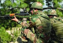 Indian Army joint ops with Myanmar Army