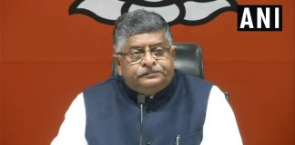 RS Prasad censured Rahul Gandhi for his tweets against PM Modi