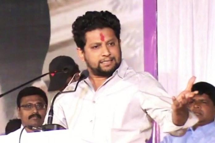 Congress Leader of Opposition Radhakrishna Patil's son joins the BJP