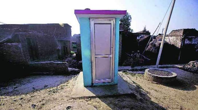 Over 93% of rural Indian households now have access to toilets