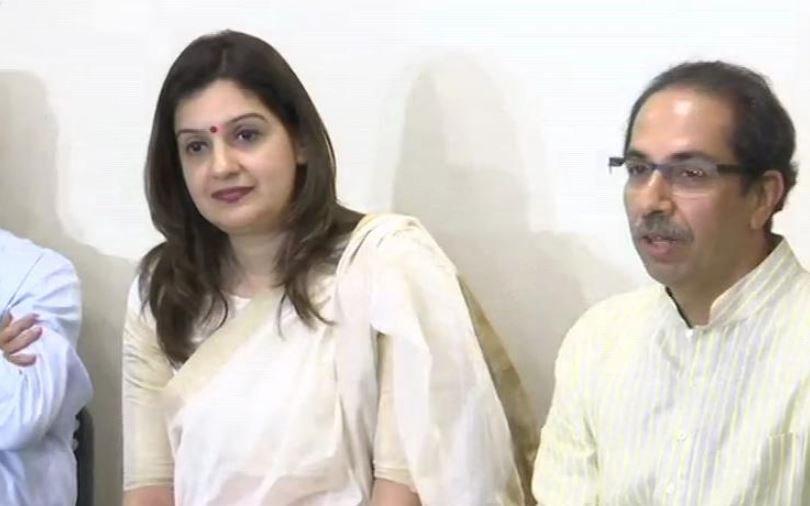 Congress' Priyanka Chaturvedi joins Shiv Sena