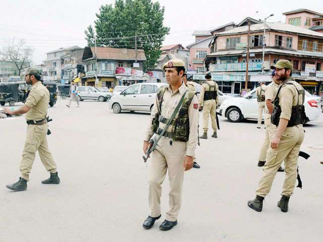 Government has issued blackout order against non-permitted TV channels in Kashmir Valley