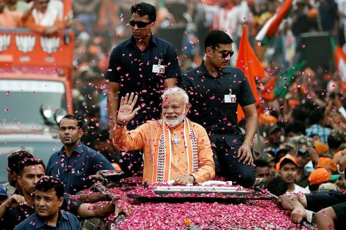 NYT peddles Modi 2.0 as victory of India's most divisive leader