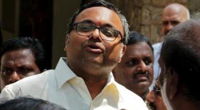 SC refuses to consider Karti's petition seeking release of rs 10 crore deposit