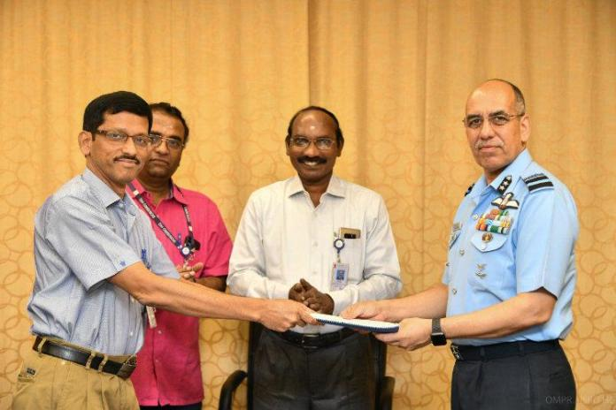 ISRO IAF sign MoU