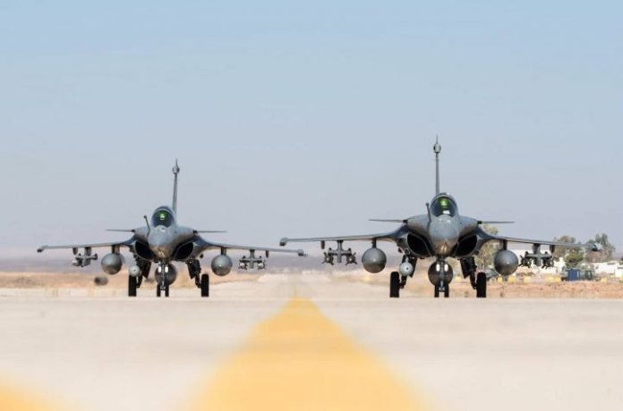 Rajnath Singh, IAF Chief BS Dhanoa will travel to France to receive the first Rafale fighter jet in September
