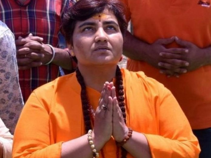 Sadhvi Pragya barred from BJP parliamentary meets, axed from defence panel