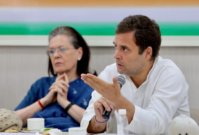 Rahul Gandhi speaks against arrest of 'journalists' in UP