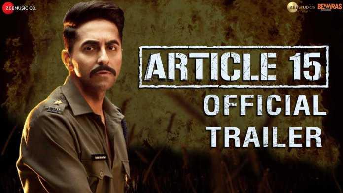 Anubhav Sinha's movie trailer seems to force an anti-brahmin, anti upper caste narrative to further his political agenda