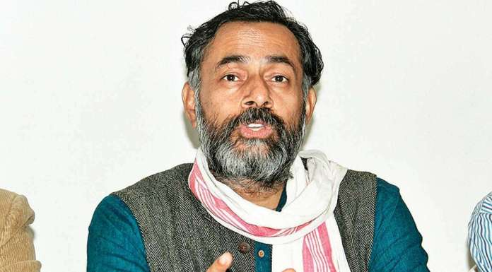 Yogendra Yadav seemed rattled after 2019 verdict gave an overwhelming majority to BJP