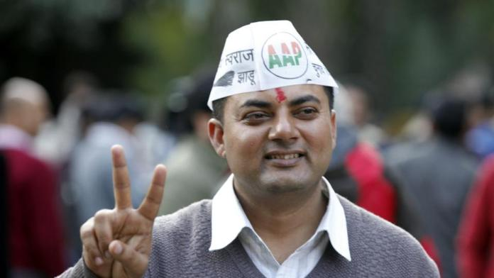 AAP MLA Som Dutt sentenced to 6 months in jail and Rs 2 lakh fine