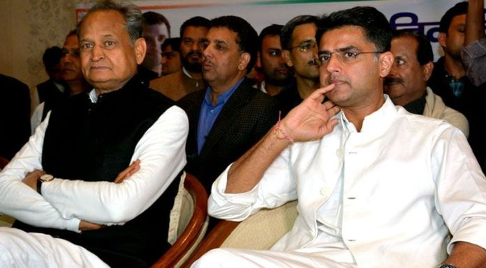 Internal rift in Rajasthan Congress seems to be worsening