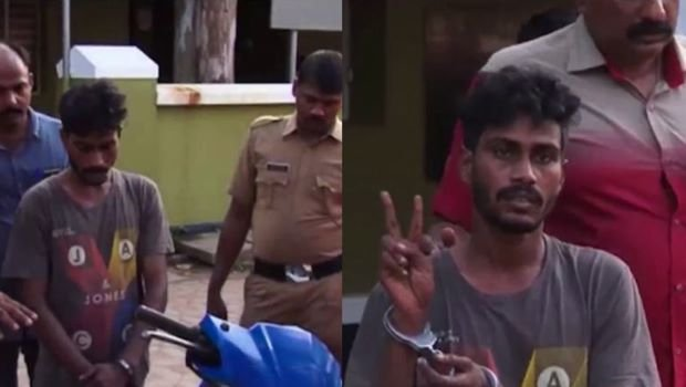 Man who stole idols and looted temple hoondi caught by locals in Kerala