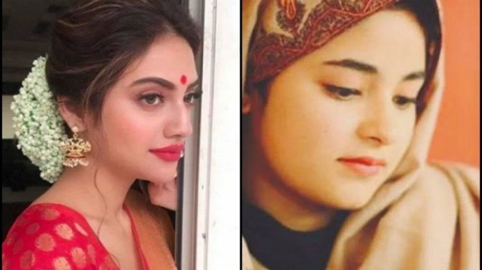 The Fault in our Stars: The tale of Nusrat Jahan and Zaira Wasim, a clash of personal choice and religion