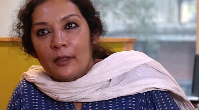 Saba Naqvi gets rattled after being pointed out that she had shared a communally charged-up fake news