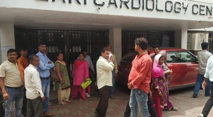 100 people attacked hospital after patient Saira Bano died of a heart attack