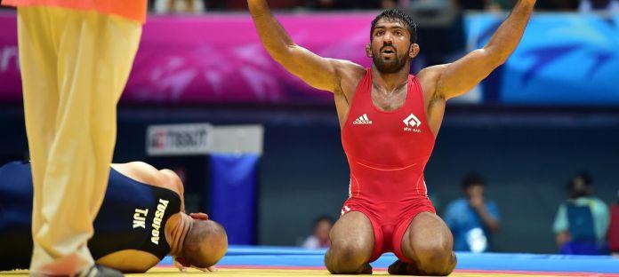 Wrestler Yogeshwar Dutt demanded action against vandals