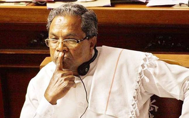 Siddaramaiah has accused CM BS Yediyurappa of playing hypocrite over Tippu Jayanti