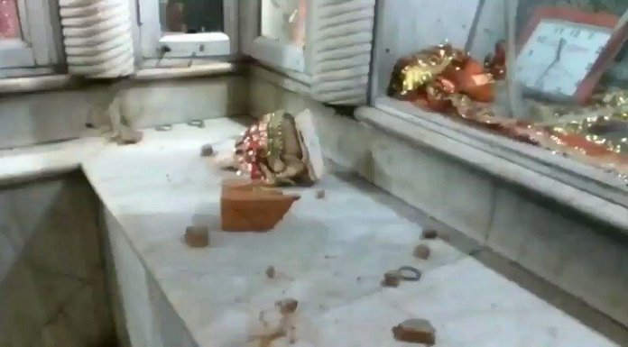 Chandni Chowk temple desecrated