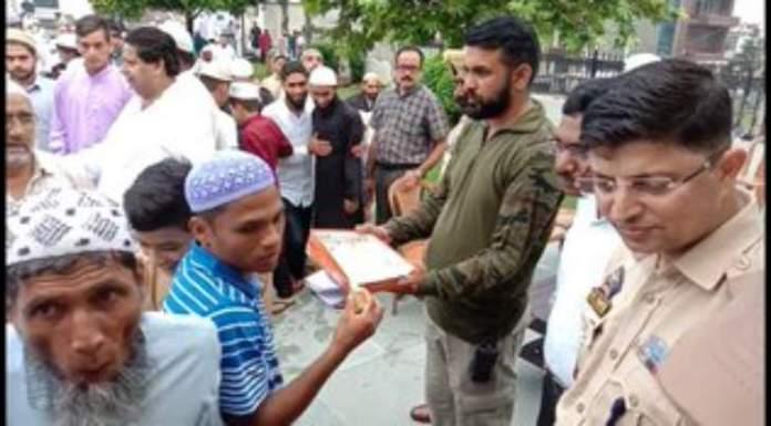 Eid being celebrated peacefully around Jammu and Kashmir
