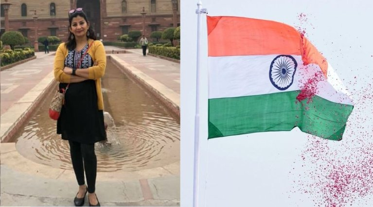 Watch: Indian Journalist confronts Pakistani protesters in London vandalising Indian flag, recovers torn flag