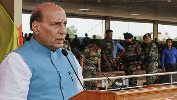 Defence Minister Rajnath Singh approves decisions regarding re-organisation of Army Headquarters