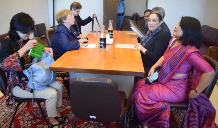 China and Pakistan only countries to raise Kashmir at UNHRC, Indian delegation meets its chief to apprise of the situation