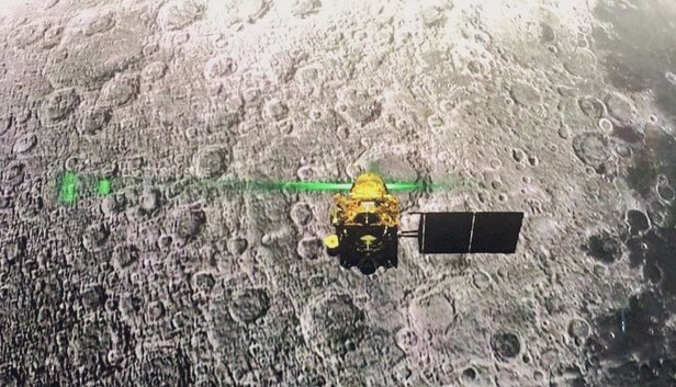 Vikram Lander located in one piece on lunar surface, no communication yet