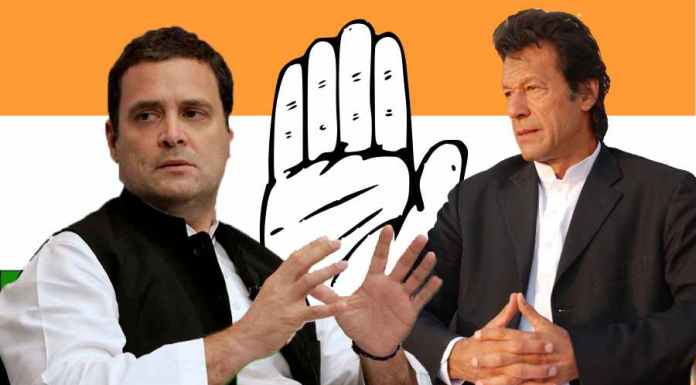 Imran Khan uses Congress statement to attack India