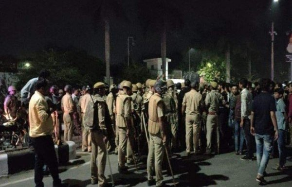 Police booked 150 students for inciting violence