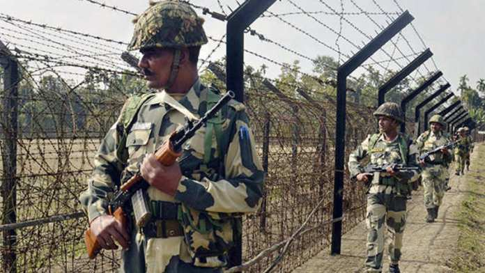 3 Bangladeshi soldiers were reportedly detained by villagers in Tripura's Sipahijala district
