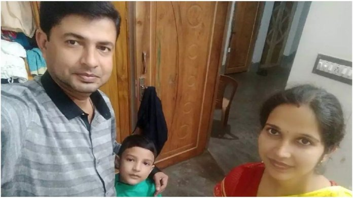 RSS worker Bandhu Prakash Pal, his wife and son were found brutally murdered in their house on Wednesday