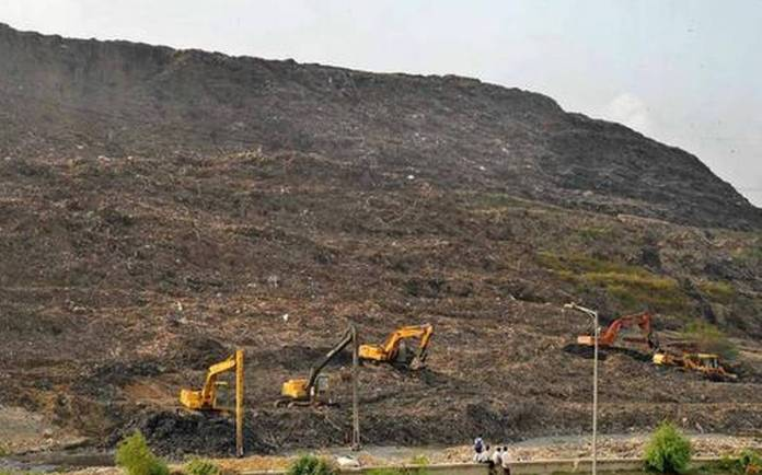 Delhi's Ghazipur landfill site to become taller than Taj Mahal by the next year