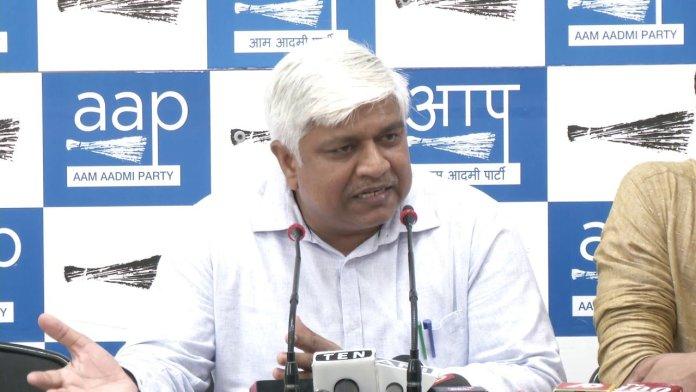 Delhi minister Rajendra Pal Gautam says Twitter account