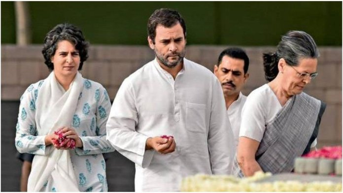 Central govt withdraws SPG security cover from the Gandhi family.