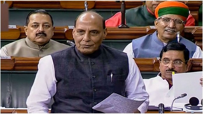 Rajnath Singh condemns 'patriot' tag on Godse, says Gandhi will always be his guide