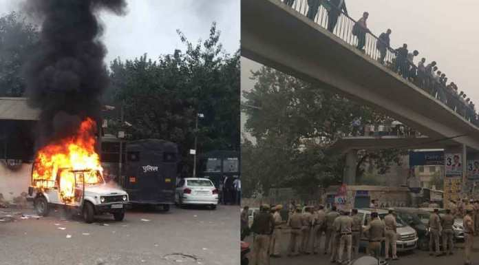 Delhi Police official who was transferred after Tis Hazari incident reveals that the lawyers had tried to set the lock-up on fire