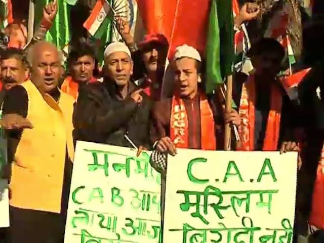 Hindu-Muslim communities in Jammu come together to support CAB