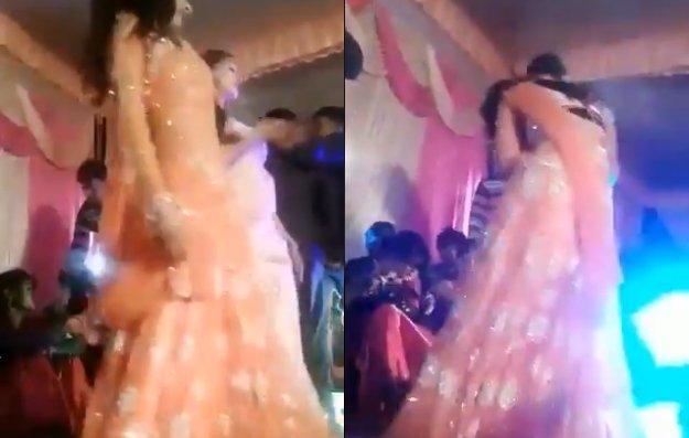 Hina shot for stopping dance