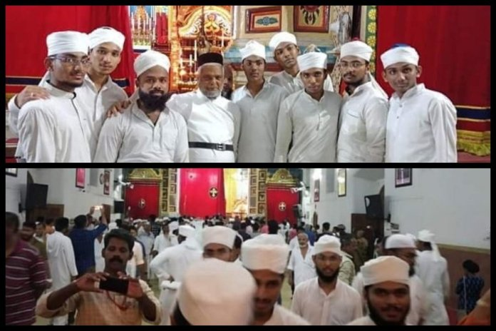 Kerala: Church opens its doors to IUML organised Namaz after Youth Congress leader and AIPC State President convinced Church