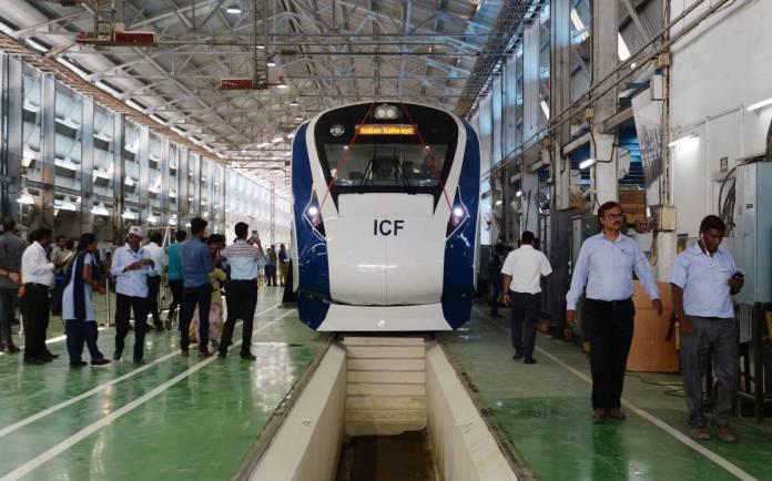 Train 18 ICF