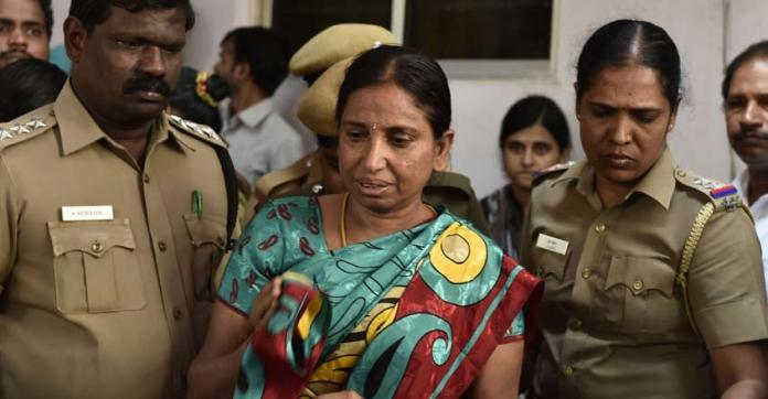 Nalini Sriharan seeks 'mercy killing' for her and her husband. Her husband was put in solitary confinement after a cellphone was found in his possession