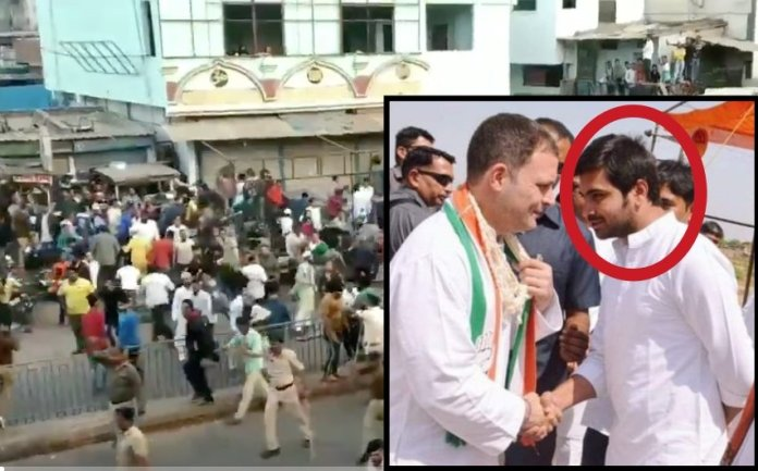 Congress Corporator Shehzad Khan Pathan detained among 32 others for violence my Muslim mob in Ahmedabad during anti-CAA riots