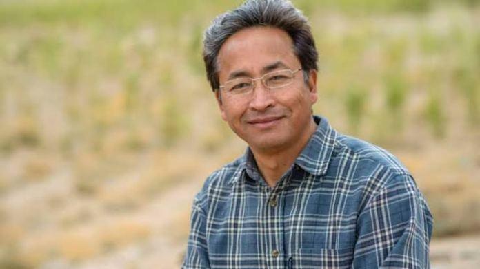 Sonam Wangchuk ladakh