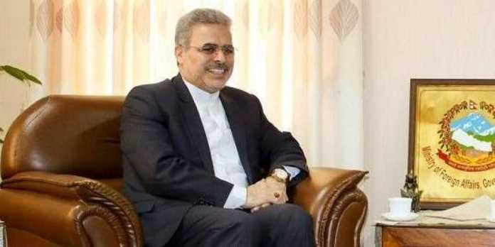 Ali Chegeni, the Iranian Envoy to India welcomes India to de-escalate tensions between Iran and the United States