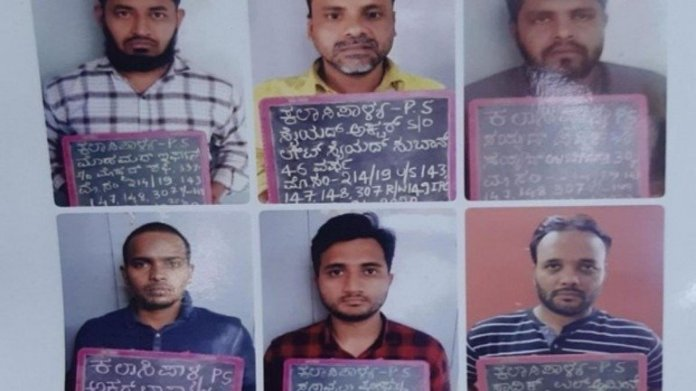 Bengaluru police arrested 6 SDPI supporters involved in attack against BJP-RSS supporters during the pro-CAA rally in Bengaluru on December 22, 2019