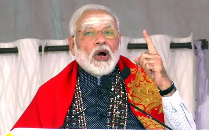 Modi slams congress for denying relief to those who have been victamised in Pakistan