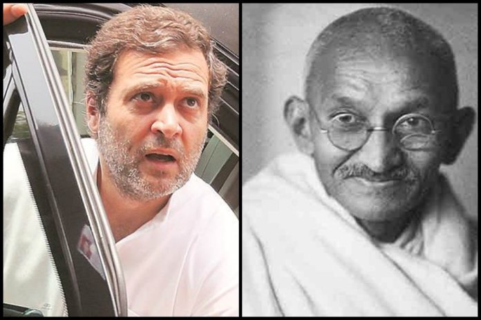 Congress and Rahul Gandhi are destroying Mahatma Gandhi's legacy more than Nathuram Godse ever could