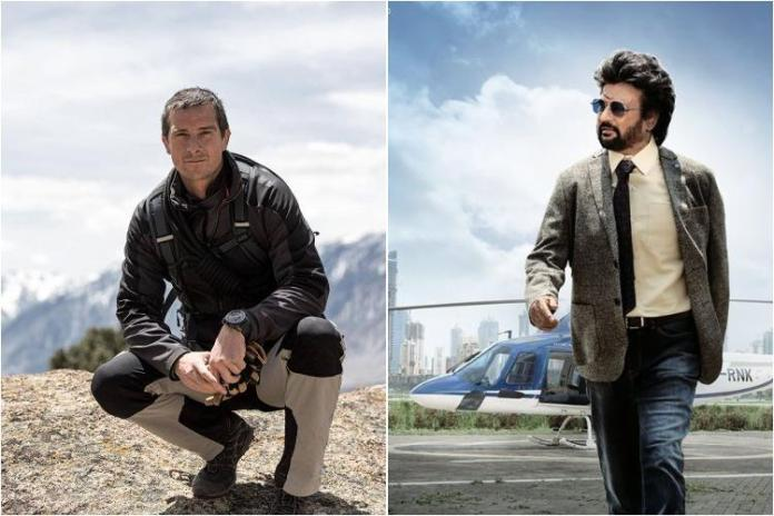 Rajnikanth to star with Bear Grylls in Man vs Wild, both arrive in Bandipur National Park